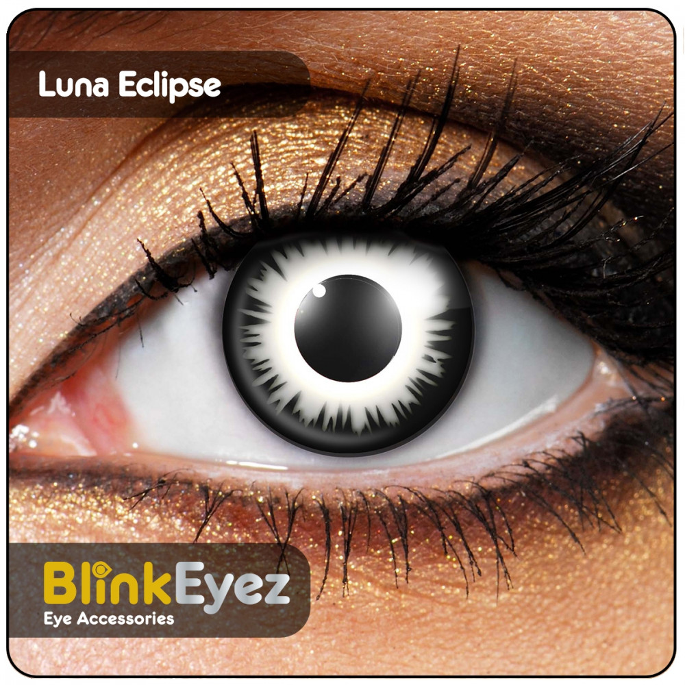 Lunar Eclipse Contact Lenses