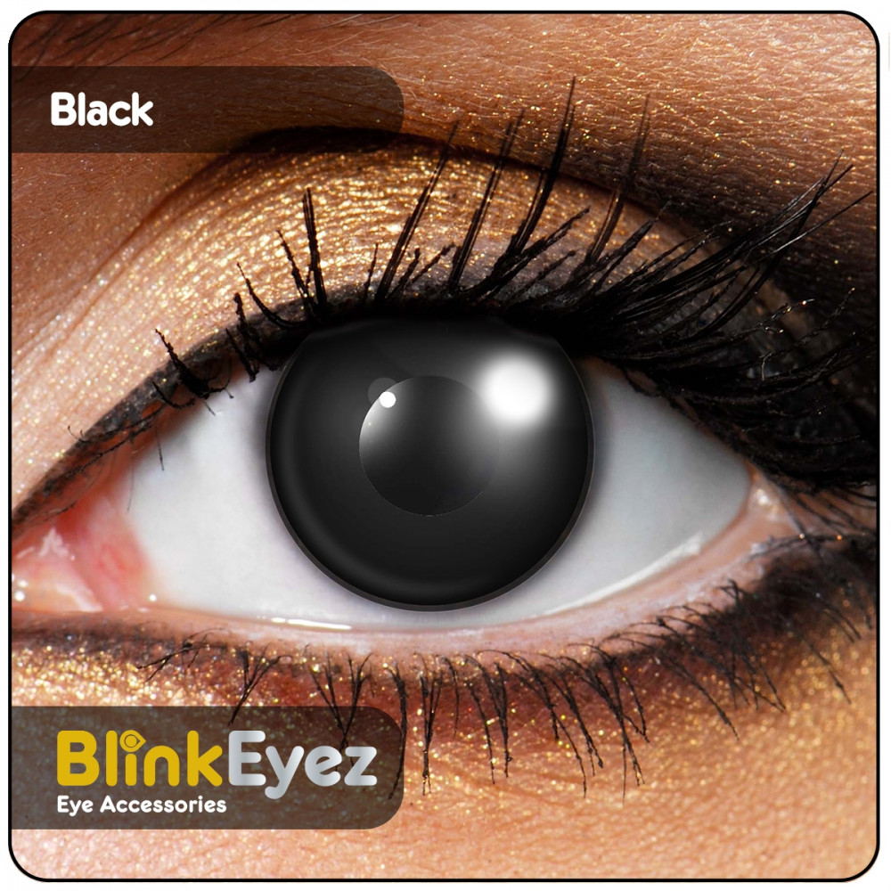 Black Halloween Contact Lenses