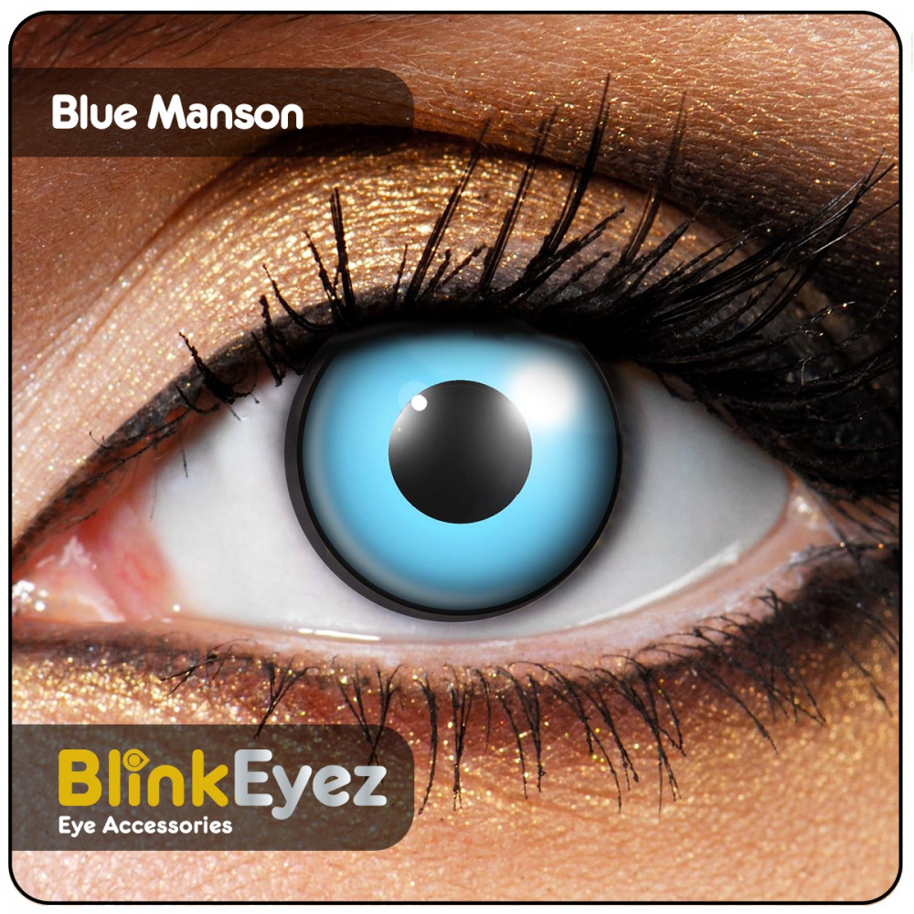 Blue Manson Contact Lenses